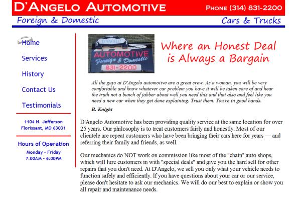 D'Angelo Automotive