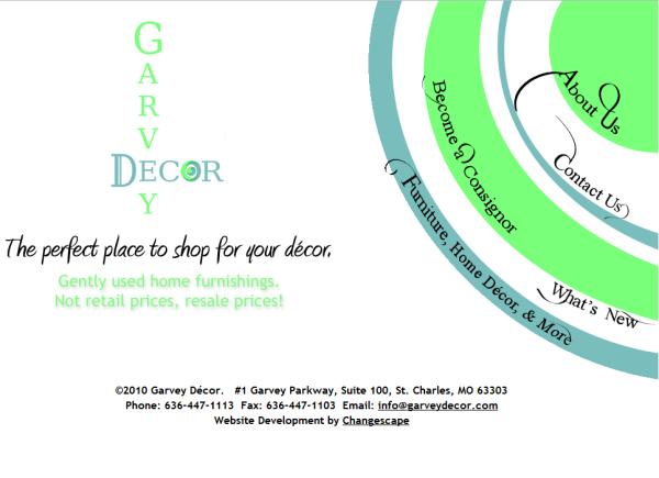 Garvey Decor website