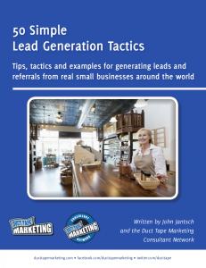 50 Simple Lead Generation Tactics
