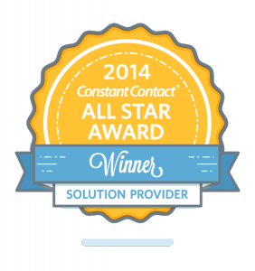 Changescape Web 2014 Constant Contact All Star logo