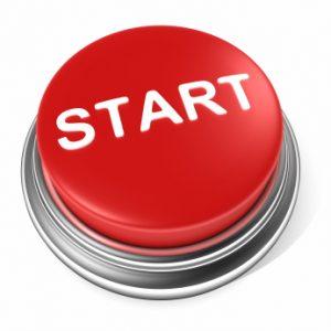 Start button for social media program