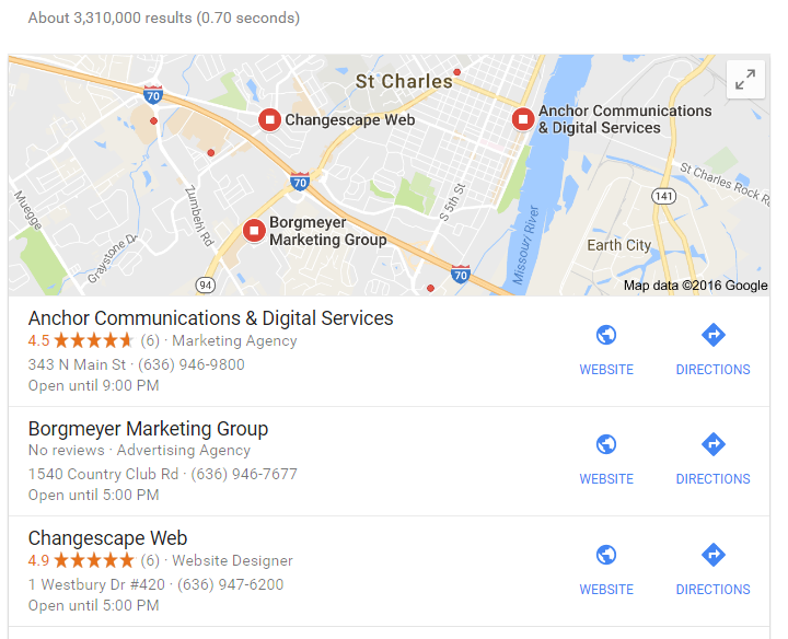 Google My Business St Charles