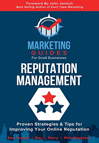 Reputation Management Marketing Guides for Small Businesses Front Cover