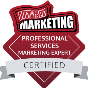 DuctTapeMarketingProfessionalServicesMarketingExpertbadge