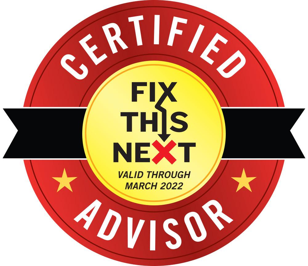 CertifiedFixThiNextAdvisor